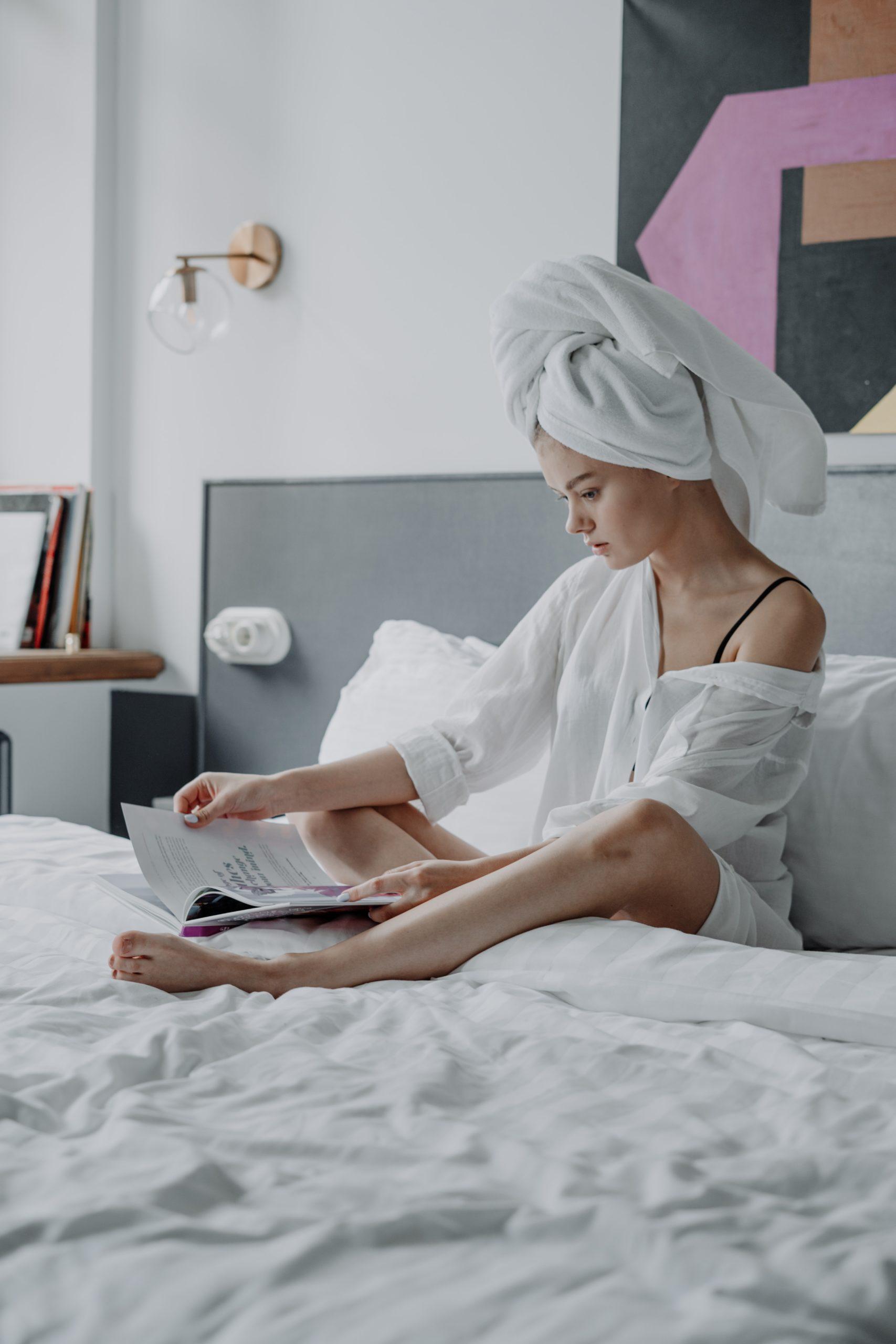 Waarom je een haarhanddoek wilt gebruiken