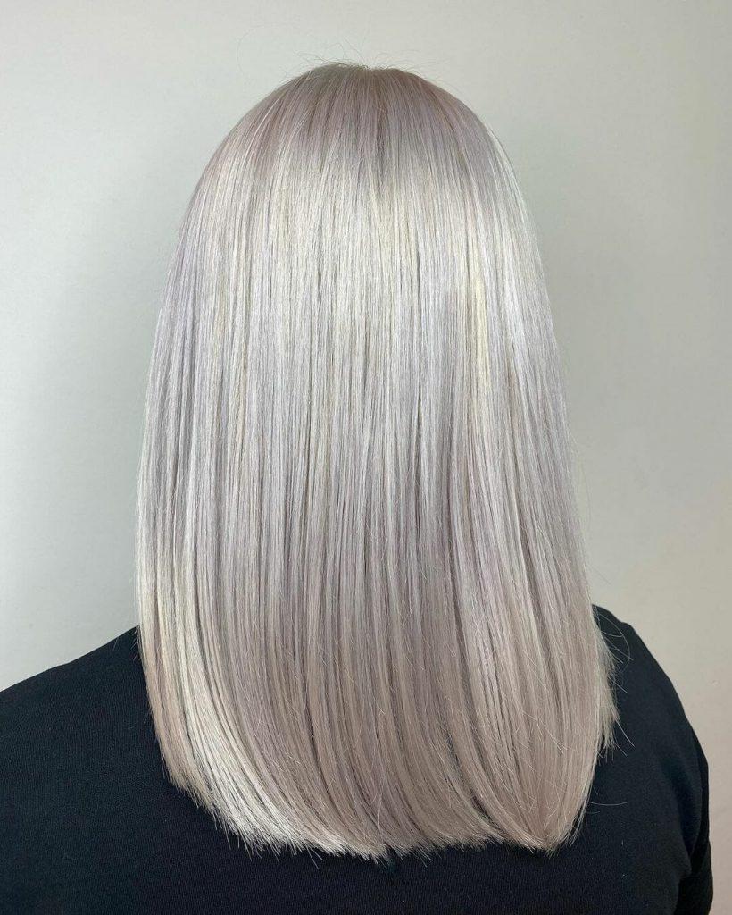 Oester-grijs haar