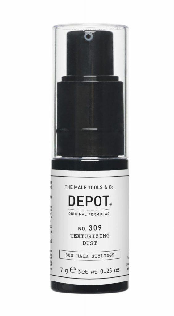 Een stoer herenkapsel met o.a. de 309 Texturizing spray van Depot